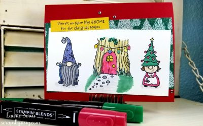 CASE-ing Tuesday #263 – Gnome for the Holidays Stamp Set