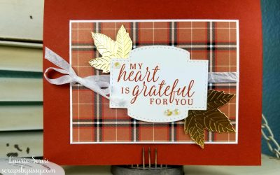 CASE-ing Tuesday – Fall Card