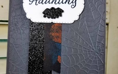 """Happy Haunting – """"Trick"""" or Treat Card"""