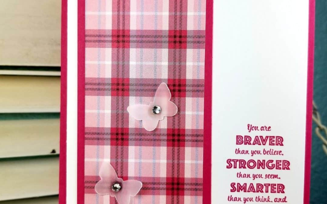 Think Pink with Plaid Tidings