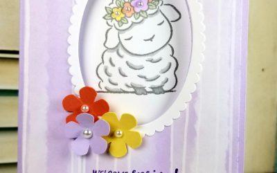 Springtime Joy Peek-a-Boo Card