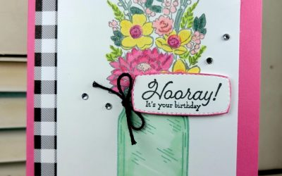 CASE-ing Tuesday #305 – Jar of Flowers Stamp Set